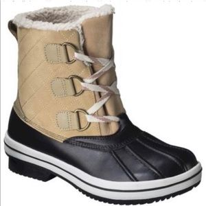 Women's merona Nancy winter boots new